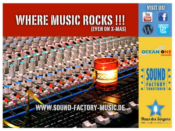 Sound Factory - where music rocks (even on X-Mas)!